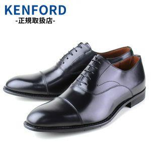 ケンフォード KENFORD KB48 ABJEB ブラック 4E メンズ ビジネスシューズ ストレートチップ リーガルコーポレーション 革靴 大きいサイズ