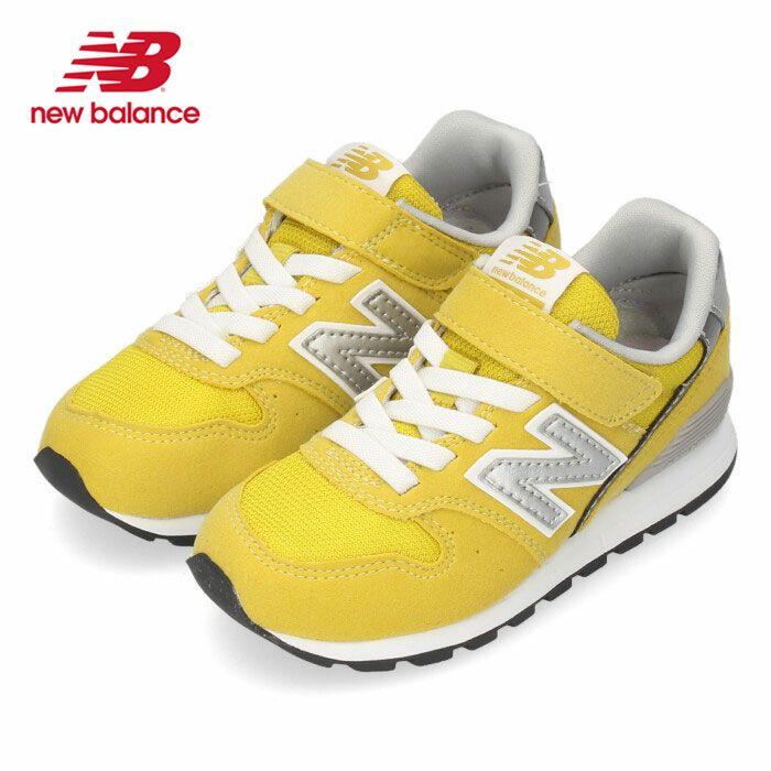 ニューバランス new balance キッズ スニーカー YV996 CYG イエロー 子供靴 NB